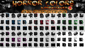[IconPackager] - Horror Colors By FASCA123 by FASsCA123