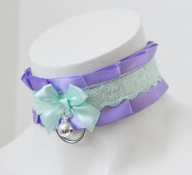 Mint lavender - Choker by ceressiass