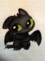Toothless by Psychotic-Bro