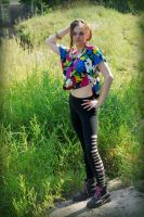 Flower-Me-Happy Blouse by MorbidKittyCorpse