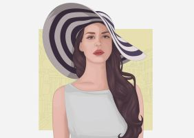 Lana Del Rey by ParaSadness