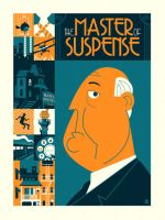 The Master of Suspense by Montygog