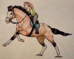Boudica, a Queen by IberianWarmblood