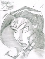 Wonder Woman SketchShot by StevenSanchez