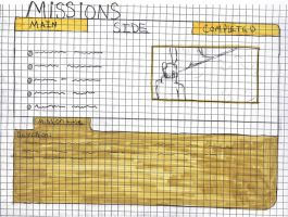 Missions Screen by N30N-KITTY