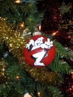 Ghostbusters 2 Logo Ornament by AngstyGuy