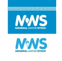 mineral water stock logo by sounddecor