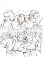 WL2 cover pencils by ChristianNauck