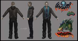 Male Concept Art by Maximko