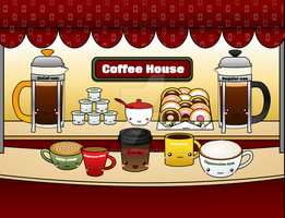 Coffee House by Nashiil