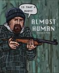 ALMOST HUMAN Hunter by LeevanCleefIII