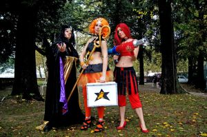 Sailor Moon Villains Group 12 by LizCosplay1982