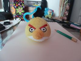 Another angry birds key chain plush by Aso-Designer