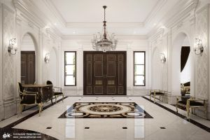 Villa B - Ground floor Lobby 1 by kasrawy