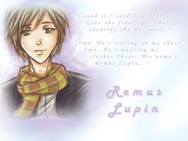 Remus Lupin by AStudyInScarlet