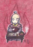 Avatar Chibies- Iroh by who-stole-MY-name