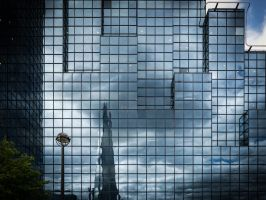 Shard - Even in Reflection by amipal