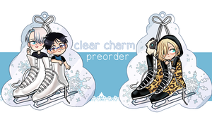 YoI Charms by cambrasine