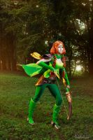 Windranger (DotA 2) - Easy breezy by ver1sa