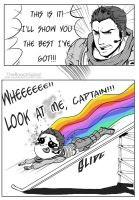 Look, captain!! by TheRoachSalad