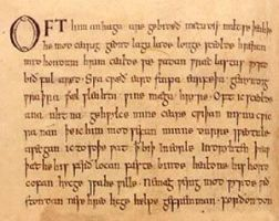 Diary, entry one (Early Middle English ) by Goosequillian