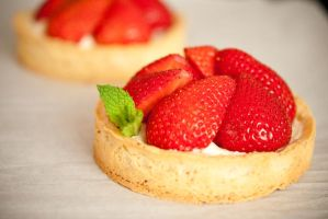 Strawberry tart by yujai