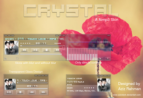 Crystal,The Aimp3 Skin! by AzizStark
