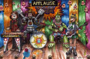 Animatronic Band by Phraggle