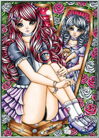 Chantelle and Tilly in 'Sister Sister' by MyCandyGirl