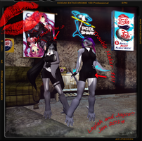 Laylah -Same Father Different Moods- Second Life by Jace-Lethecus