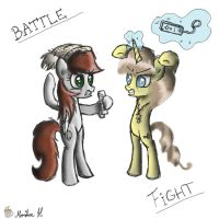 Ready to battle by FinnishGirl97