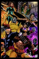 X-Men - Coloured by Olooriel