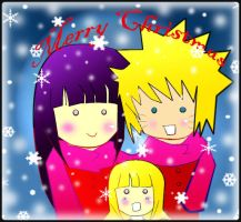 Christmas with NaruHina by dreams-celestial