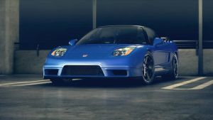 Honda NSX Parked Blue by NasG85