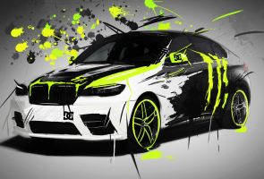 BMW X6 Monster by ales-kotnik