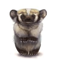 American Badger by Silverfox5213
