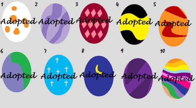 Egg Adoption 1-CLOSED- by Kittypaws89