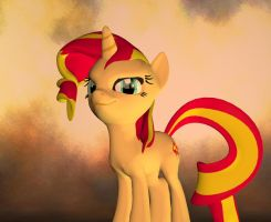 Sunset Shimmer by Rachidna