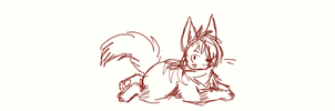 Quoll Sketch by Dr-Quollchops