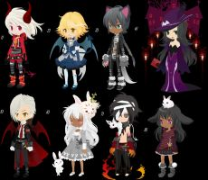 {CLOSED} FREE Creepy Adopts part 1 by Kiddy4ever
