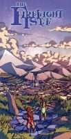 Firelight Isle Colour Test by spoonbard