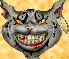 Finished Cheshire cat by ergoproxy92