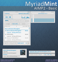 MyriadMint Basic for AIMP2 by Slifer2006
