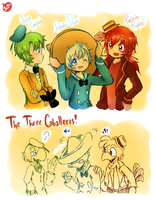 .: The Three Caballeros :. by FnFiNdOART