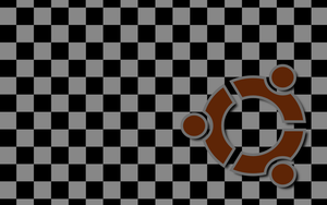 Ubuntu Checkerboard by joshtronic