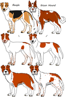 Two-Way Mixed Breeds 1 by Leonca