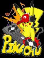 DJ Pikachu part II by masterkitsune
