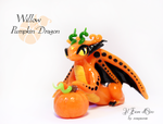 Willow, Pumpkin dragon by rosepeonie