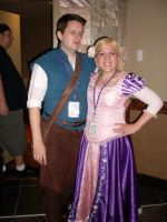 Flynn and Rapunzel by chippy-lightgaia