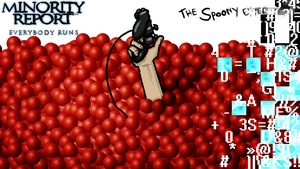 The Spoony Experiment Minority Report Title Card by Shooter--Andy